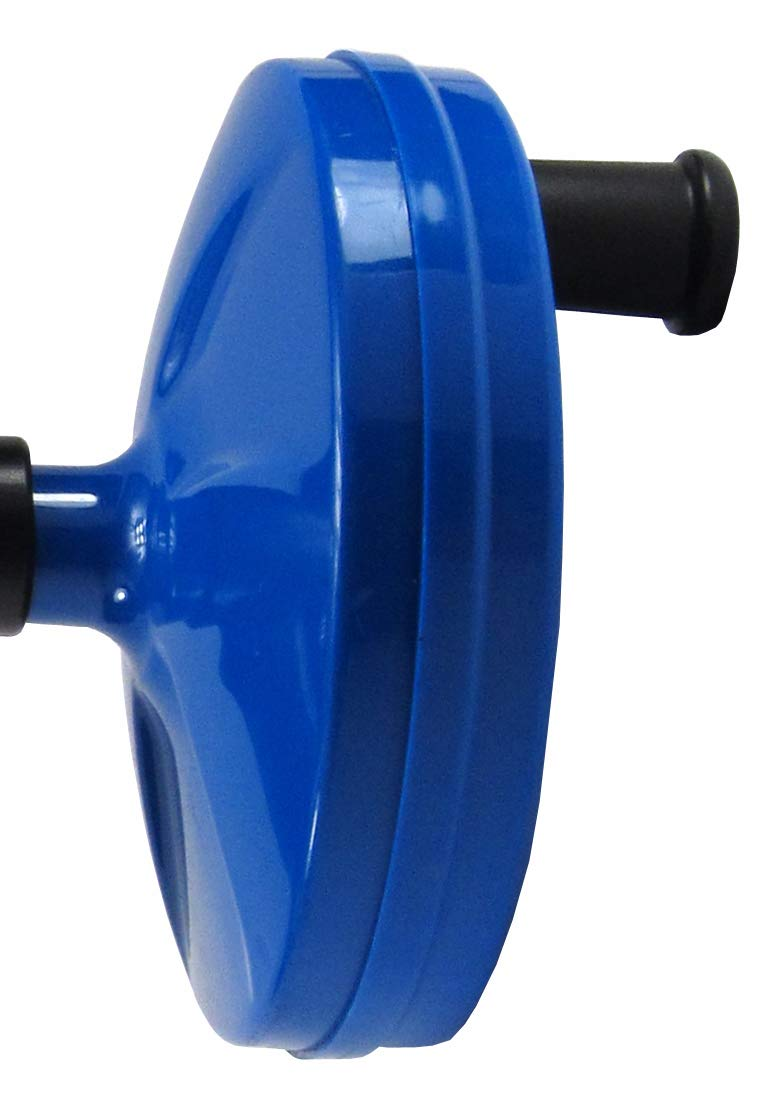 Elitexion Hand Spin Plumbing Drain Cleaner Spin Thru Drain Auger Spring Cable 25ft x 1//4-inch