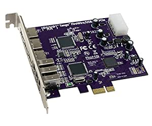 Sonnet FWUSB2A-E tarjeta y adaptador de interfaz - Accesorio (PCIe, IEEE 1394/Firewire, USB 2.0, NEC, FireWire, 6-pin FireWire, USB A, 480/400 Mb/s)