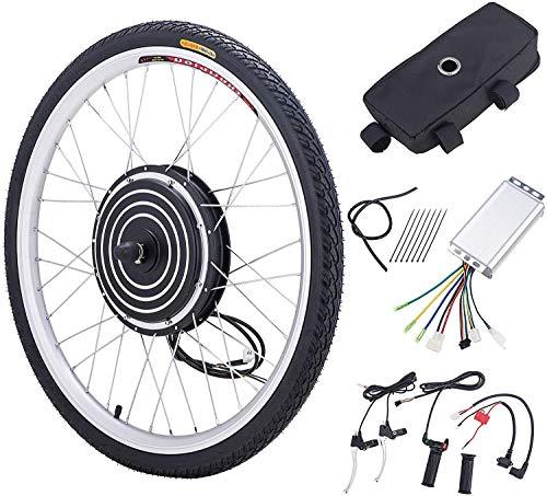 Sfeomi Elektrische fiets-ombouwset, 26 inch, 36 V, 500 W, E-bike, conversiekit, elektrische fiets, ombouwset…