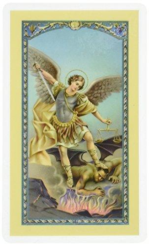 WJ Hirten E24-330 Saint Michael The Archangel, Clear Holy ()
