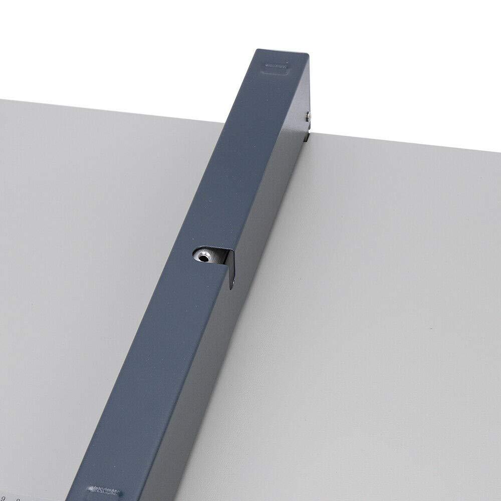 RANZIX M/áquina de ranurar manual 46 cm m/áquina para crear papel m/áquina profesional de ranurar ajustable