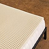 Pure Green 100% Natural Latex Mattress Topper - Medium Firmness - 2...
