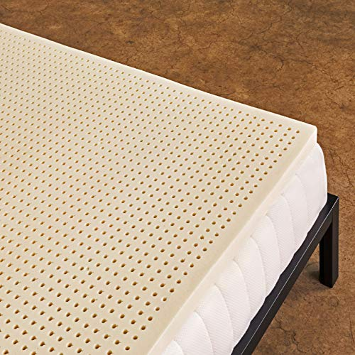 Pure Green 100 Natural Latex Mattress Topper Soft 3 Inch King Size