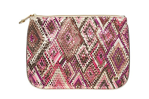 - Stephanie Johnson Women's Istanbul Large Flat Pouch, Pink