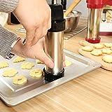 Cookie Press Gun, TEEPAO 13 Stainless Steel Disc