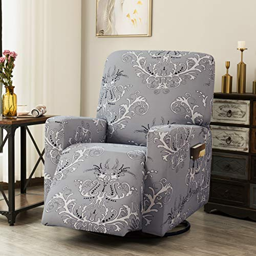 Best Tikami Stretch Printed Recliner Chair Covers Washable