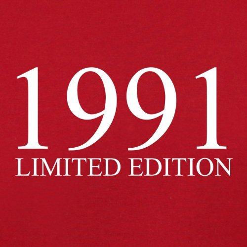 1991 Limierte Auflage / Limited Edition - 26. Geburtstag - Herren T-Shirt - Rot - XXL