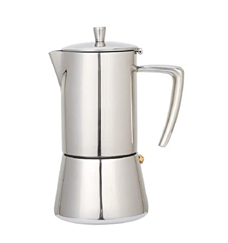 Baoffs-kicm Cafetera clásica Moka Pot Mocha Coffee Pot Café ...