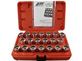 AUDI WHEEL SCREW LOCK SOCKET SET (20PCS) BY JTC 4456