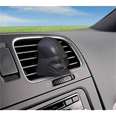 Plasticolor Star Wars Darth Vader Vent Clip Air Freshener, 3 Pack Air Fresheners and Vent Clip Air Fresheners (005302R01): Automotive