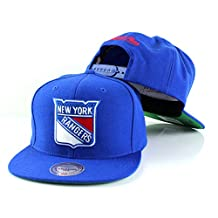 NHL Mitchell & Ness Vintage Wool Solid Snapback Hat