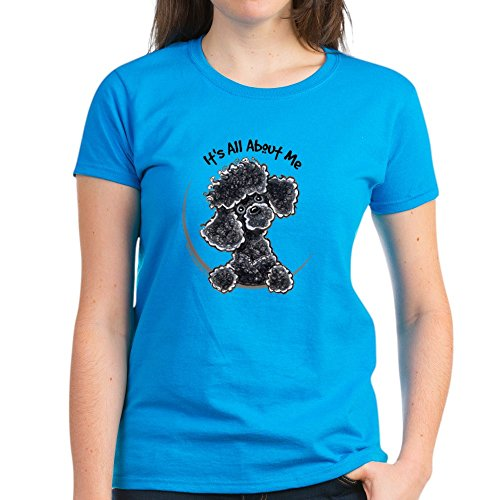 CafePress Black Poodle Lover - Womens Cotton (Poodle Black Magnet)