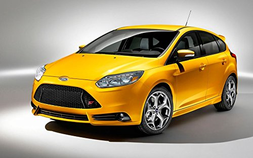 Ford Focus Customized 38x24 Inch Silk Print Poster Seda
