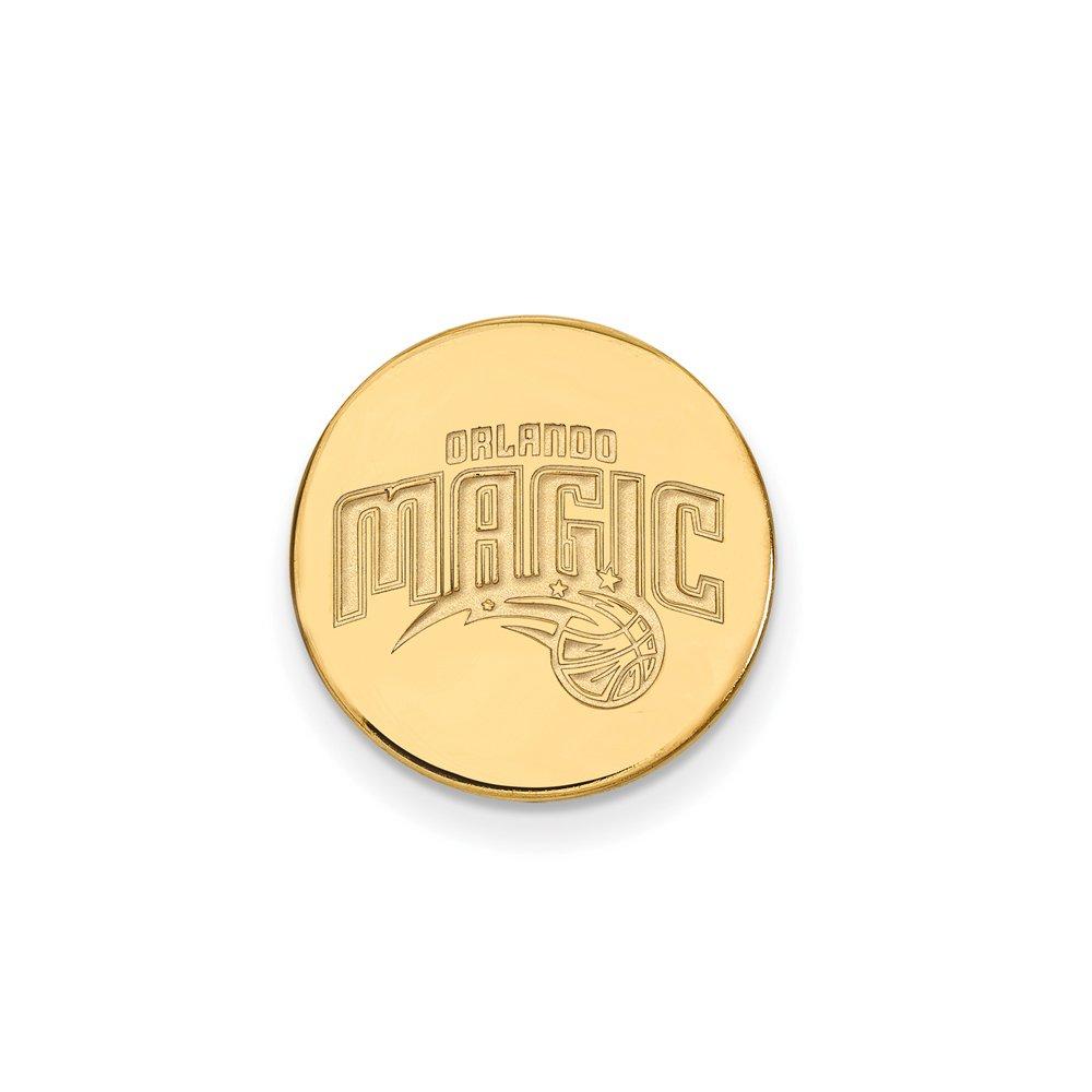 NBA Orlando Magic Lapel Pin in 14K Yellow Gold