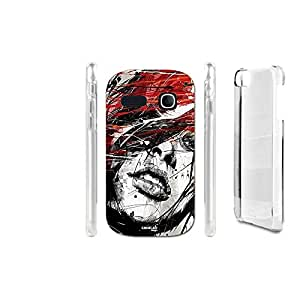 FUNDA CARCASA RAGAZZA RED PARA ALCATEL ONETOUCH POP C3