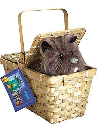 Wizard of Oz Dorothy's Toto in a Basket]()