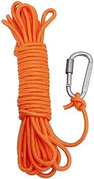 BeGrit Cuerda Flotante de Anclaje para Amarre, Cuerda multifunción, 10 m 20 m 30 m/6 mm, línea de Remolque para Barco, Camping, Senderismo, Escalada