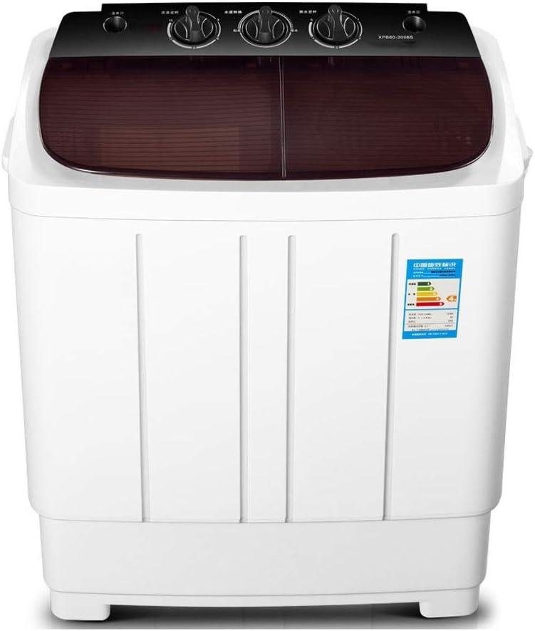 HEMFV Lavadora y Secadora portátil Compacto Lavadora Doble Tina con Secadora, pequeño y Ligero de lavandería Lavadora de Apartamentos, Dorm Rooms, de RV