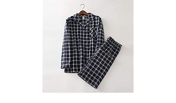 Thadensama 100% Cotton Dinosaur Pajamas Sets Mens Sexy Plaid Casual Sleepwear for Male Pyjamas Pijama Hombre Mens Cartoon Pajamas 4Pb XL at Amazon Mens ...