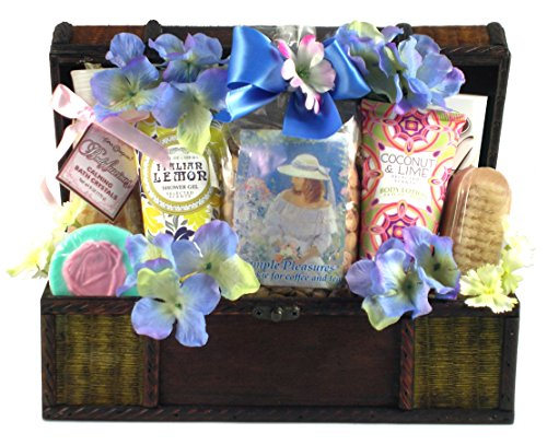 Gift Basket Village Perfectly Pampered Spa Gift Basket for Her, 7 Pound