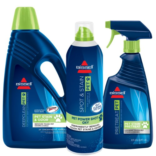 Bissell Pet Deep Cleaning Formula Kit for Upright Deep Cleaning, 1033 by Bissell