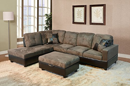 3 Piece Sectional Ottoman - 6