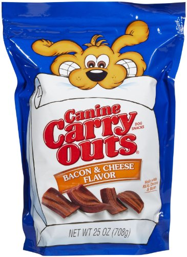 (Canine Carry Outs Bacon & Cheese Flavor - 25 Oz)