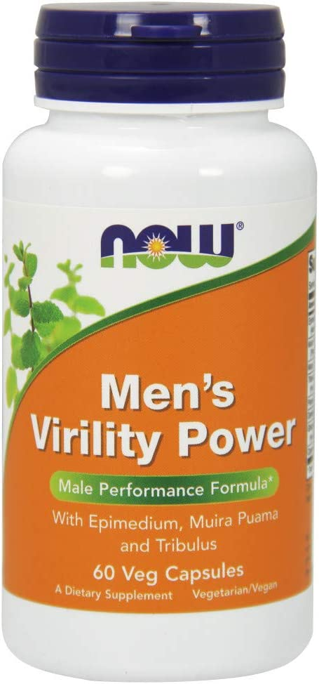 NOW Supplements, Men's Virility Power, Featuring Epimedium or