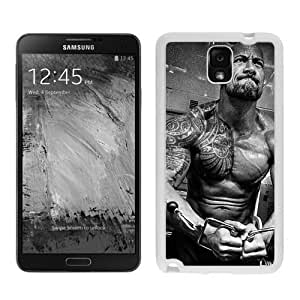 Case For Samsung Note 3,dwayne rock White Samsung Note 3 Case Cover