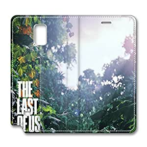Note 4 Case, Fashion PU Leather Galaxy Note 4 Cover [Flip Cover] with Foldable Stand The Last Of Us Scenery Protective Case Cover for Samsung Galaxy Note 4