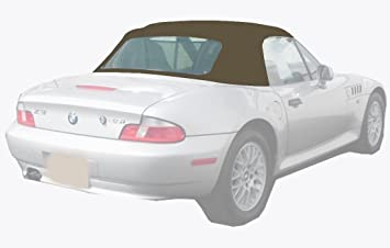bmw z3 convertible top and vinyl window sable twillfast cloth installation video amazoncom bmw z3 convertible top