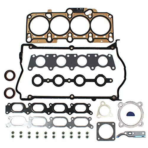 - NEW EH1652X1 MLS Cylinder Head Gasket Set for Audi Volkswagen 1.8T Turbocharged (1781cc) 20-Valve Engine A4, A4 Cabriolet, A4 Quattro, A4 Quattro Avant, TT, TT Quattro, New Beetle, New Beetle Cabrio, Golf Gti, Jetta, Passat 97-06