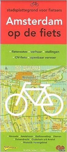Amsterdam (Netherlands) & surroundings 1:14.210 cycling map ...