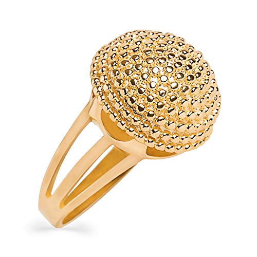 (My Jewelry Spot 14k Yellow Gold Filled Band Fireworks Ball Ring (8))