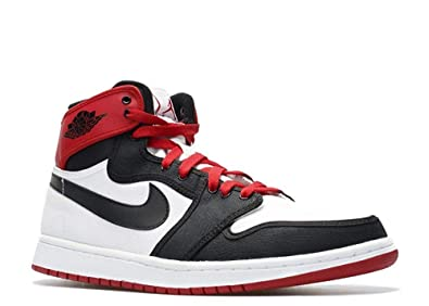 official photos acbe0 3f5b8 Nike Air Jordan 1 Retro KO Hi White Black Varsity Red (402297-110)