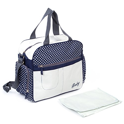 Blue Camouflage Diaper Bag - 8