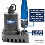 Superior Pump 91570 1/2 HP Thermoplastic