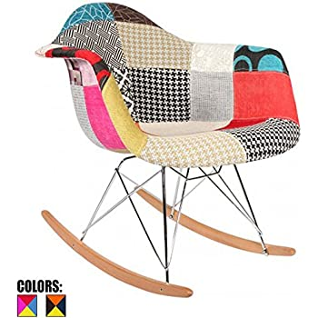 2xhome   Single (1)   Multi Color U2013 Modern Upholstered Eames Style Armchair
