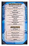 (25) Single Menu Covers for 8.5x14 Sheets, Hardcover Menu Presenters for Restaurants with Photo Album-style Corners, Black, Synthetic Leather - 9'' x 14.5'' x 0.25''