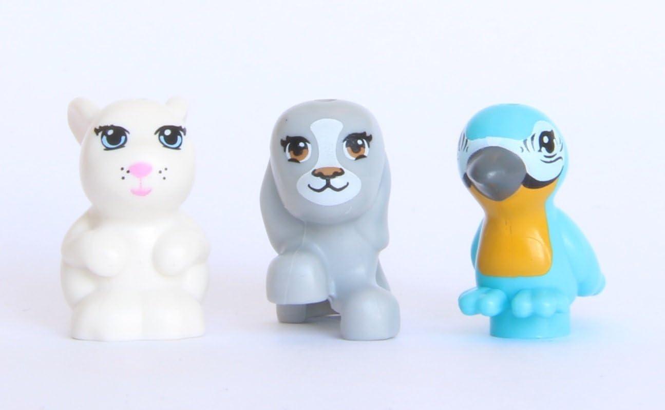 NEW LEGO Lot of 4 Animal Bunny Friends
