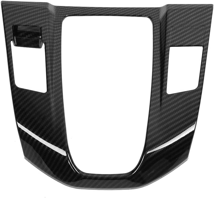 Carbon Fiber Gear Shift Frame Trim for Honda CRV 2017 Interior Gear Shift Frame Cover