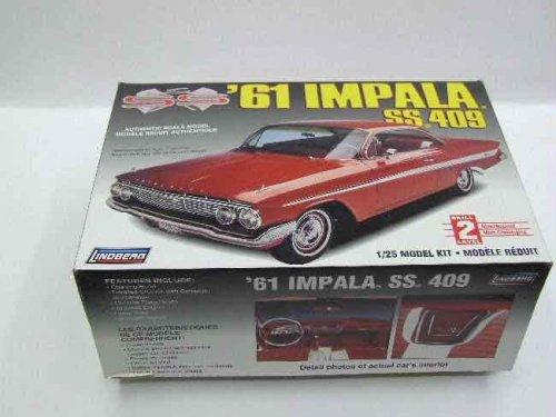 Lindberg '61 Impala SS 409 1/25 Model Kit