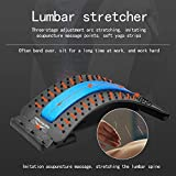 Back Stretching Device,Back Massager for Bed