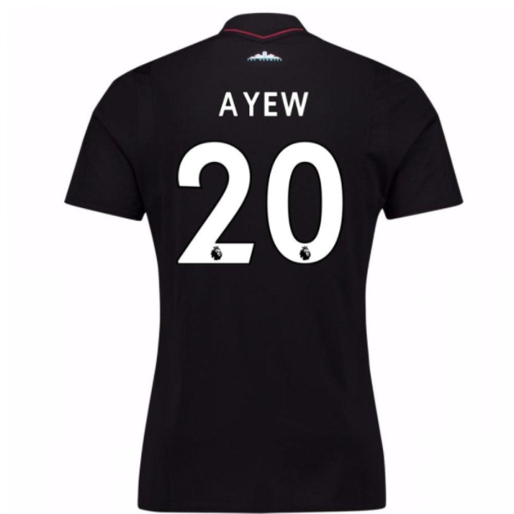 2017-18 West Ham Away Football Soccer T-Shirt Trikot (Andre Ayew 20)