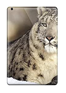 Hot Style JokawCm6839yxoPV Protective Case Cover For Ipadmini/mini 2(snow Leopard Pictures )