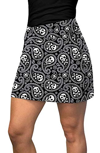 Loudmouth Golf Shiver Me Timbers Active Skort