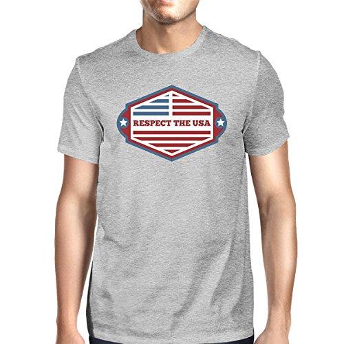 de Printing 365 para Talla corta hombre Camiseta manga BzaHwxa7q