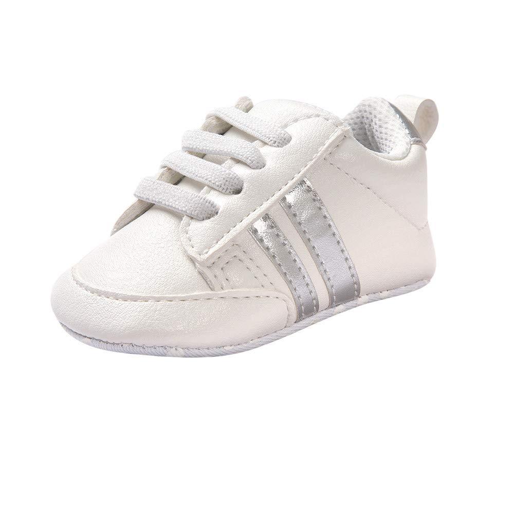 Zapatos de bebé Primeros Pasos Calzado Deportivo de Cuero Antideslizante Inferior Suave para niños niñas pequeños Infantiles Botas Zapatillas