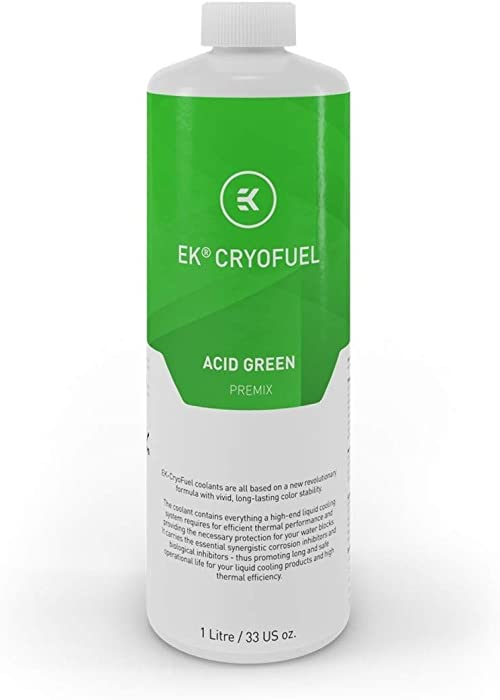 EKWB EK-CryoFuel Premix Coolant, 1000mL, Acid Green