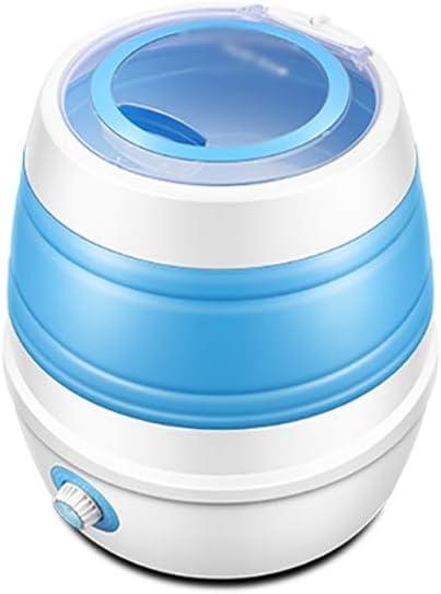 XXYJ Lavadora portatil Bebé Plegable Lavadora portátil, hogar Semi-automático, portátil pequeña Lavadora, Ahorro de Espacio, función de Temporizador, el Ahorro de energía (Size : 1PCS)